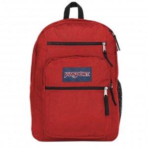JanSport Big Student Rugzak red tape backpack