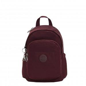 Kipling Delia Mini Rugzak paka wine backpack