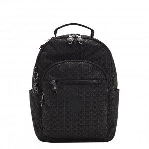 Kipling Seoul S Rugzak signature emb backpack
