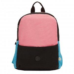 Kipling Sonnie Backpack purple teal block