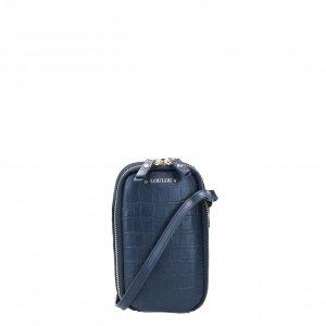 LouLou Essentiels Classy Croc Mobile Bag dark blue Damestas