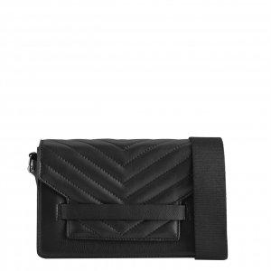 Markberg Arabella Puffer Crossbody Bag black/black Damestas