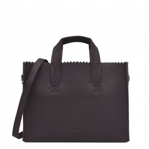 Myomy My Paper Bag Handbag Crossbody Hunter chocolate brown
