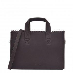 Myomy My Paper Bag Handbag mini Hunter chocolate brown