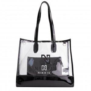 Nikkie Pepper Transparant Bag black Damestas