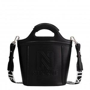 Nikkie Polly Rubber Bag black Damestas