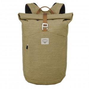 Osprey Arcane Roll Top Backpack milky tea tan backpack