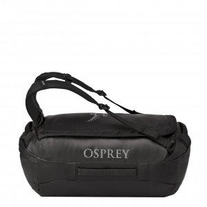 Osprey Transporter 40 Duffel black II Weekendtas