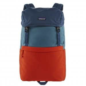 Patagonia Arbor Lid Pack patchwork: paintbrush red backpack