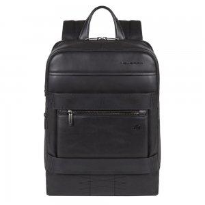 Piquadro Obidos Computer And IPad Backpack Anti-fraud Protection black