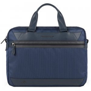 Piquadro Trakai Computer Portfolio Briefcase blue Aktetas