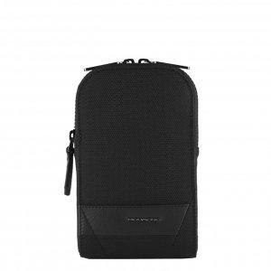 Piquadro Trakai Pocket Crossbody Bag For Smartphone black