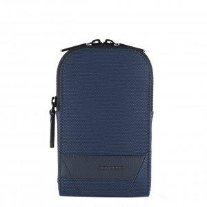 Piquadro Trakai Pocket Crossbody Bag For Smartphone blue