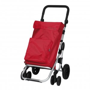 Playmarket Go Plus Boodschappentrolley red Trolley