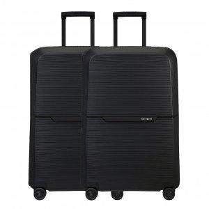 Samsonite Magnum Eco Spinner 75 Set van 2 graphite Harde Koffer