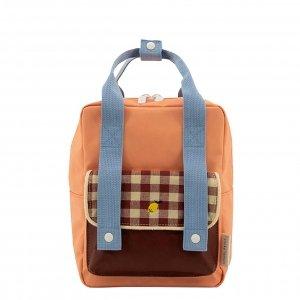 Sticky Lemon Gingham Backpack Small cherry red sunny blue berry swirl backpack