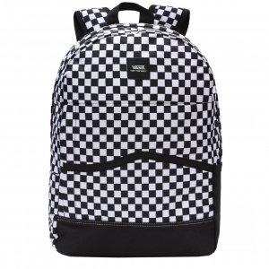 Vans Construct Skool Backpack black/white check