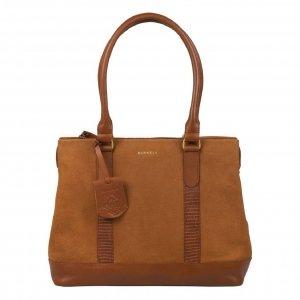 Burkely Soul Sem Handbag M 13.3'' leaf cognac