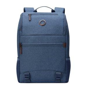 Delsey Maubert 2.0 Laptop Backpack 15'' blue backpack