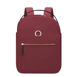 Delsey Securstyle Laptop Backpack 14'' dark brown backpack