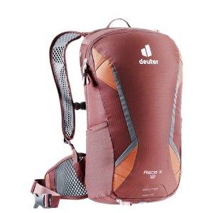 Deuter Race X Backpack red-wood/paprika backpack