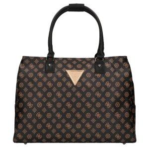 Guess Wilder Travel Tote Bag brown Weekendtas