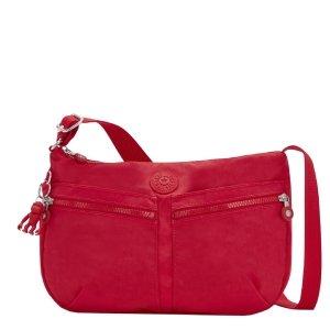 Kipling Izellah Schoudertas red rouge Damestas