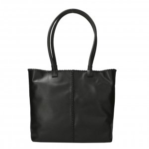 Shabbies Amsterdam Handbag soft nappa leather L black Damestas