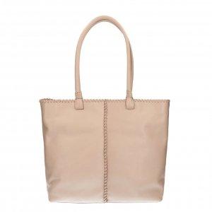 Shabbies Amsterdam Handbag soft nappa leather L light grey Damestas