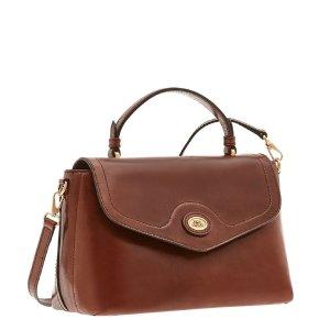 The Bridge Story Donna Top Handle Bag brown Leren tas