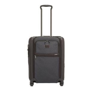Tumi Alpha Continental Dual Access 4 Wheel Carry-On anthracite Zachte koffer