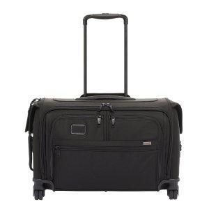 Tumi Alpha Garment 4 Wheel Carry-On black Handbagage koffer