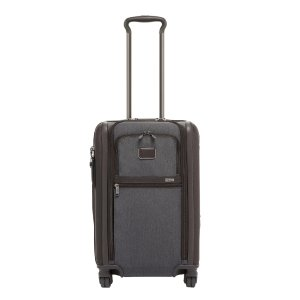 Tumi Alpha Internationa Dual Access 4 Wheel Carry-On anthracite Zachte koffer