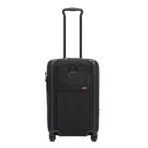 Tumi Alpha International Expandable 4 Wheel Carry-On black Zachte koffer