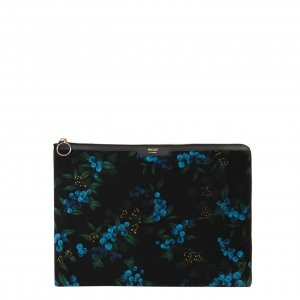 Wouf Isabelle 13'' Laptophoes leafs multi Laptopsleeve